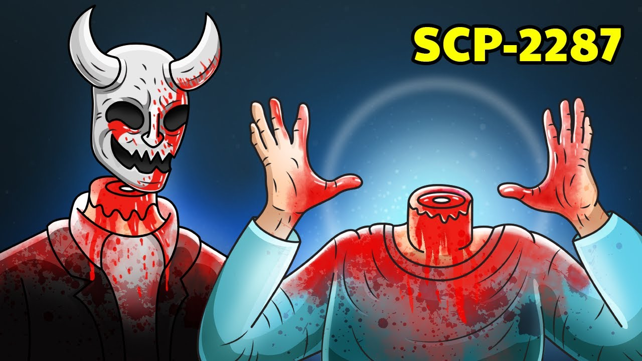 SCP-2287 Mr. Headless (SCP Animation)