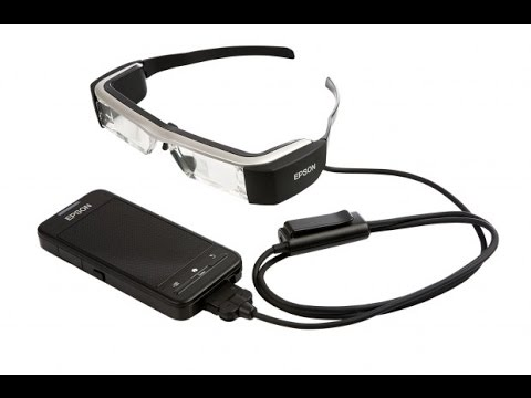 cd06c396f4 Epson Announces Moverio BT-300 Smart Glasses - YouTube