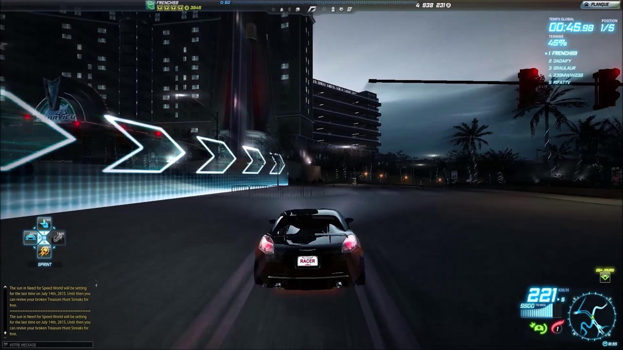 Need for speed world pontiac solstice gxp class c