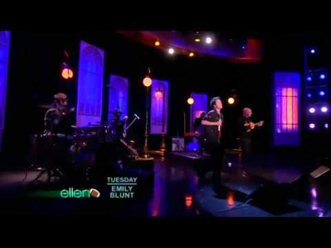 Train - Hey, Soul Sister no Ellen DeGeneres