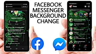 Change Facebook & Messenger Background | No Root Required