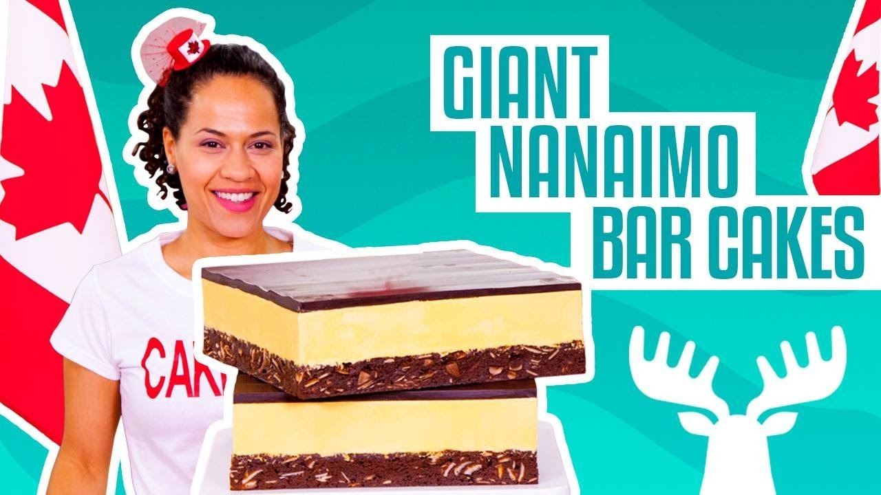 how-to-make-giant-nanaimo-bars-out-of-cake-for-canada-150-yolanda-gampp-how-to-cake-it