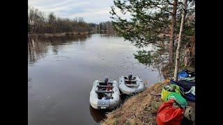 Открытие лодочного сезона 2021 река Сосьва