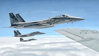 F-15 Eagle Aircrews & Aerial Refueling • Sentry Savannah