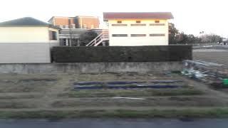 【JR九州】713系0番台JR日豊本線宮崎神宮→蓮ヶ池間進行方向右側車窓