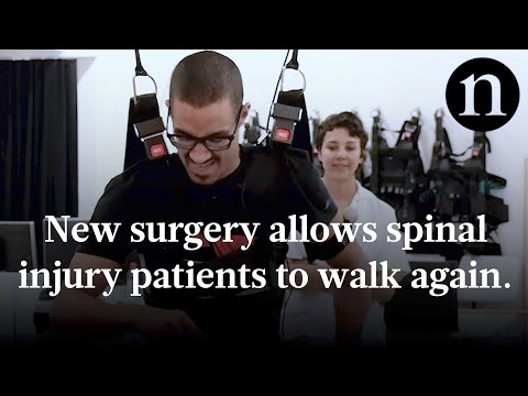 Spinal injury patients walk again
