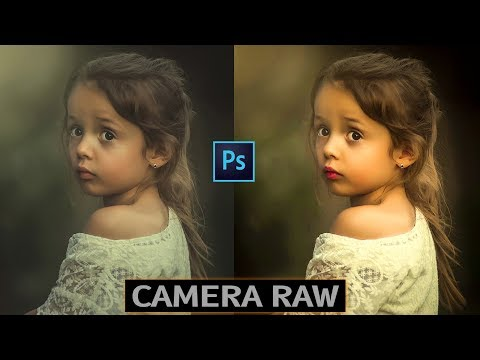 How To Use Camera Raw Photoshop CC Tutorial In Hindi thumbnail