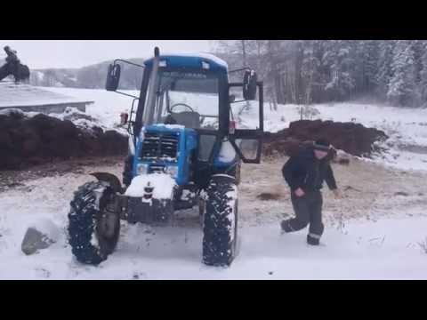 Download Belarus Mtz 82 Winter Fun Drift Rescue Of Mtz 50