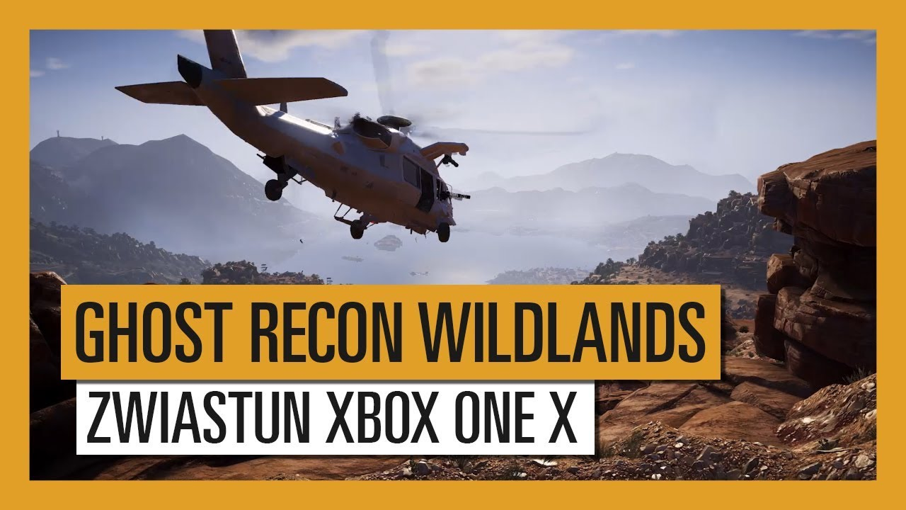 GHOST RECON WILDLANDS: Zwiastun Xbox One X