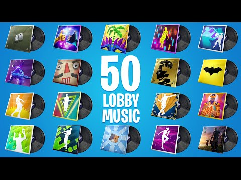 FORTNITE All Lobby Music (All 50 Lobby Music)