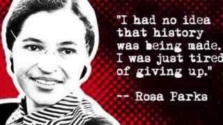Rosa Parks biography.