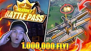 FLYVER 1.000.000 KR FLY I FORTNITE SEASON 7!! (DANSK FORTNITE)