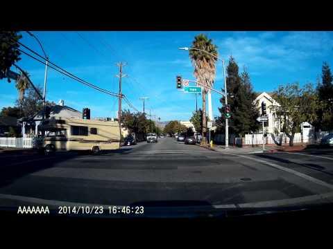 DMV California Behind the Wheel Drive Test DashCam
