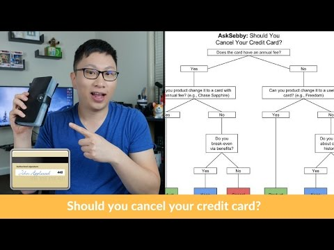 When Should You Cancel Your Credit Cards