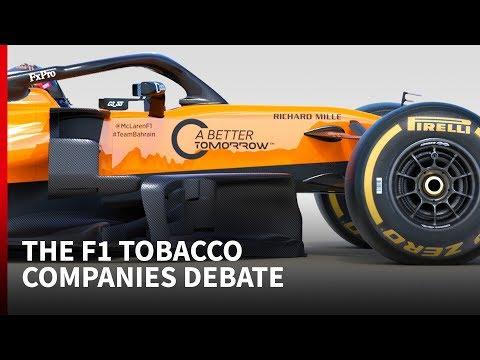 Are tobacco companies making an F1 comeback?