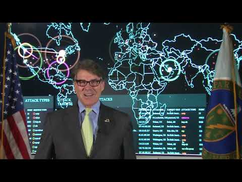 Secretary Perry's Message to DOE the Cyber Defense Competition