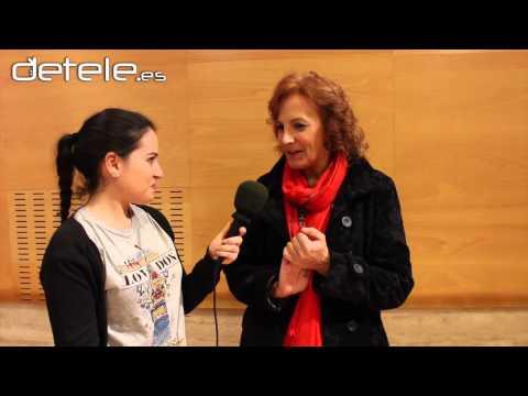 Entrevista: Elena Irureta es Detele  'Algo que celebrar'