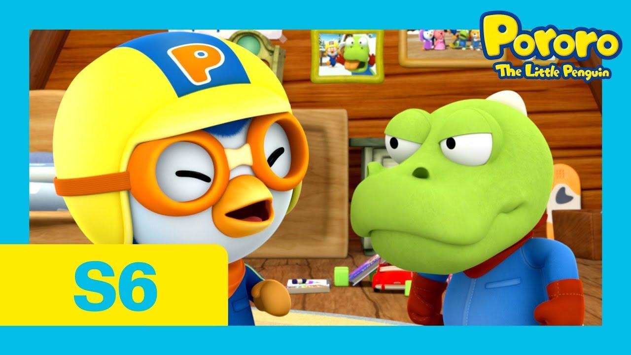 Download Pororo Season 6 | #06 Pororo, Crong! Please Don't Fight [With CC] | Pororo the little Penguin
