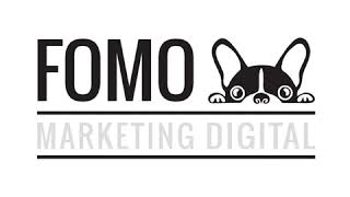 FOMO MARKETING DIGITAL logo animado