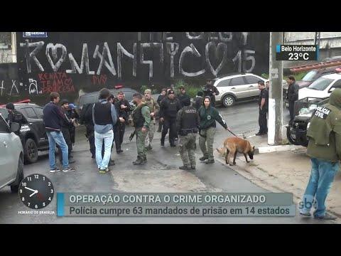 Polícia Civil e MP fazem operação contra maior facção criminosa do país | SBT Brasil (14/06/18)