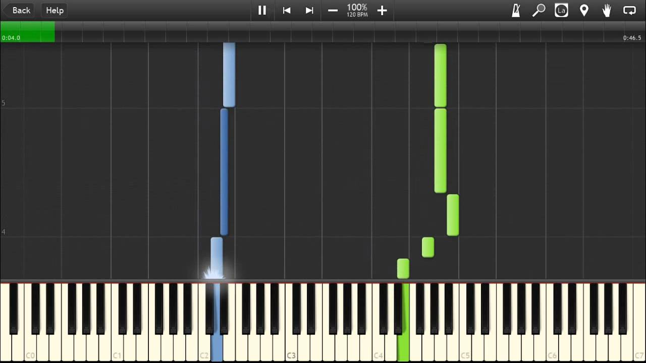 Adventure Time Everything Stays Piano Tutorial