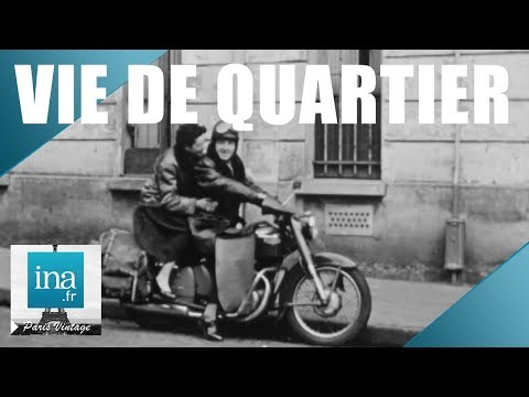 1957 : Vivre dans le 13e arrondissement de Paris | Archive INA