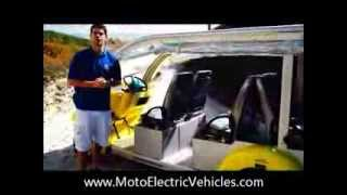 Learn About the 6 Passenger Low Speed Vehicle Bubble Car | From Moto Electric Vehicles