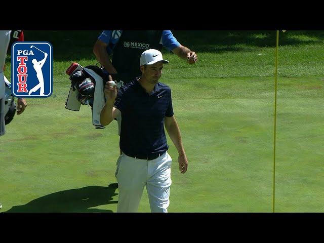 Ross Fisher's hole in one at Mexico Championship