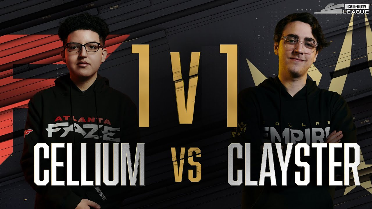 Finals | CELLIUM vs CLAYSTER — 1v1 Gunfight | All-Star Weekend Day 2