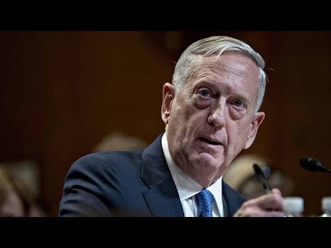 Mattis says US strike destroyed large number of Syrian military aircraft