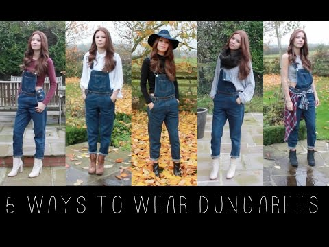5 WAYS TO WEAR DUNGAREES / OVERALLS