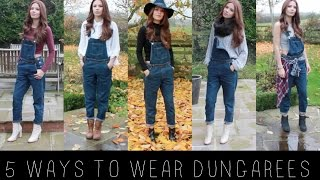 5 WAYS TO WEAR DUNGAREES / OVERALLS(, 2014-11-22T11:48:25.000Z)