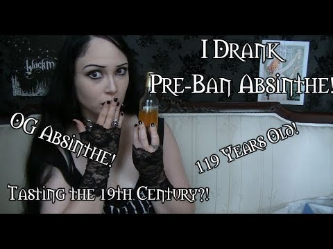 Download I Drank a Pre-Ban Absinthe! | Review of Pernod Fils, Vintage 1900