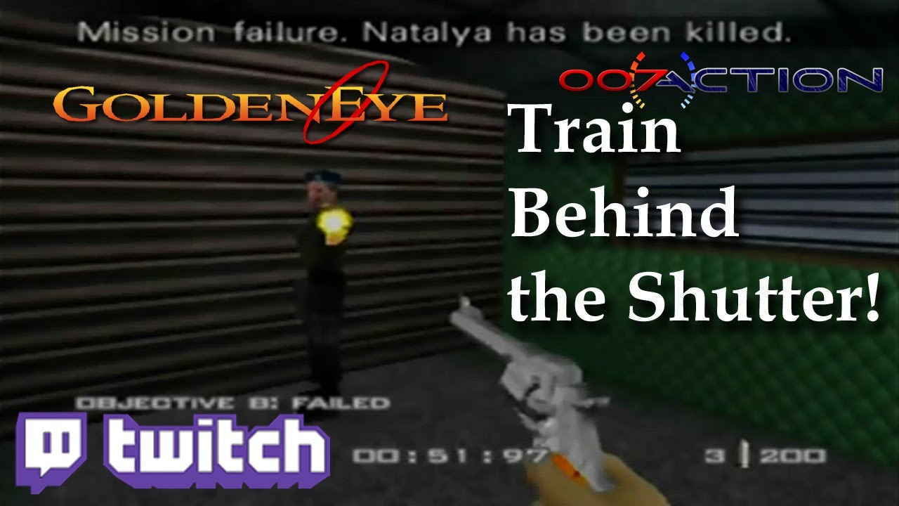 Train - Behind the Shutter with Guard!!! (No Cheat Device/Mods)
