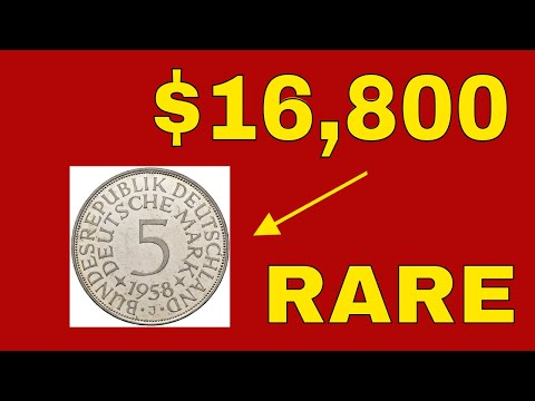 5 GERMAN COINS WORTH MONEY! COINS FROM OUR COLLECTION!