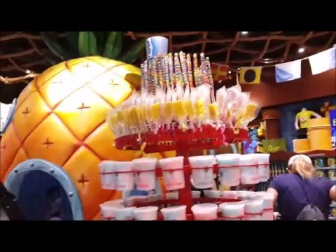 Spongebob Squarepants Gift Shop Full Tour and Overview at ...