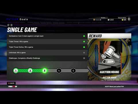 NBA 2K19 MyTeam Auction House Locked - You Must Win 2 Online Games To Unlock It I Can't Believe It