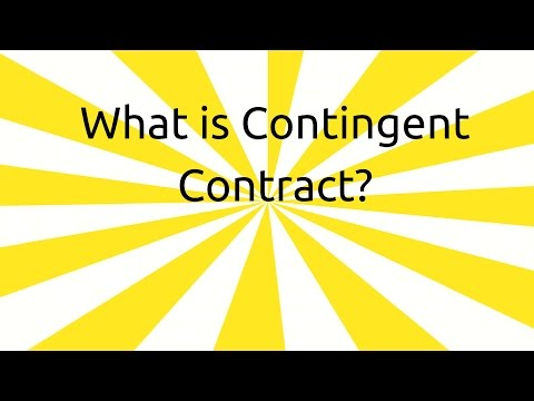 What is Contingent Contract | Contingent & Quasi Contract | CA CPT | CS & CMA Foundation | BCom Hons