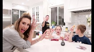 Dinner Routine with 6 kids! | How I cook dinner!