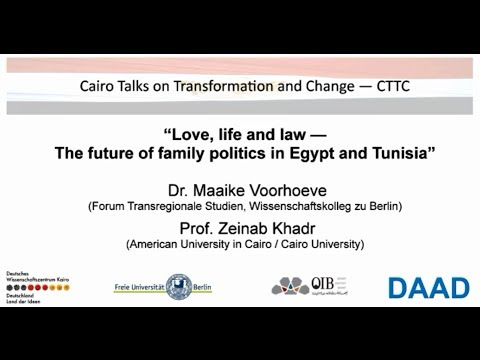CTTC   Love, life and law -- The future of family politics in Egypt and Tunisia