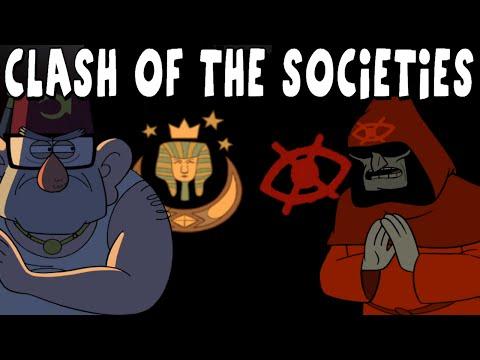 Gravity Falls: Clash of the Secret Societies - Secrets & Theories