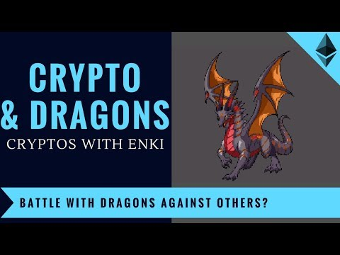 Crypto And Dragons - Battle with Dragons Against Others on Blockchain?   Crypto Games