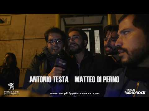 Peugeot Karaoke Rock Car 2016 - Antonio Testa e Matteo Di Perno