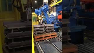 Caterpillar Press Handling
