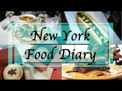 NEW YORK FOOD DIARY - Burger, Hot Dog & Cupcake ATM