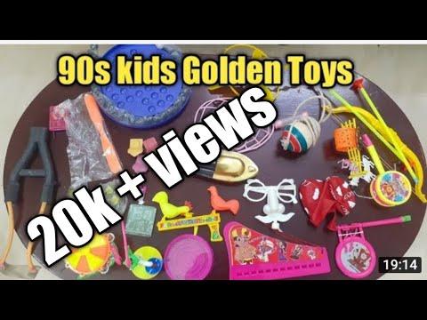 90s kids Golden toys/ Steam boat