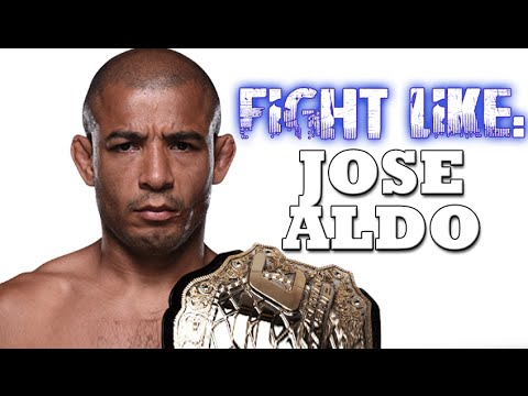 How to Fight Like Jose Aldo: 3 Signature Moves