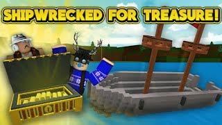 SHIPWRECKED! (ROBLOX Build A Boat For Treasure)