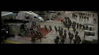 starship troopers klendathu attack widescreen
