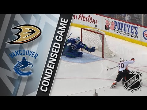 01/02/18 Condensed Game: Ducks @ Canucks